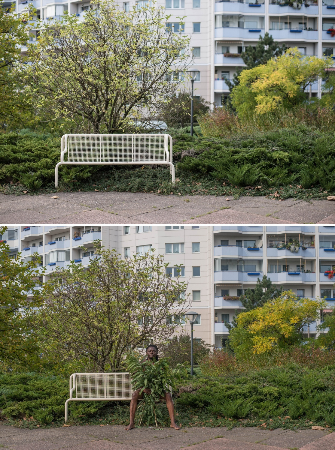 looking out, Marzahn-Berlin, 2014 Courtesy of Invisible Borders Trans-African Project