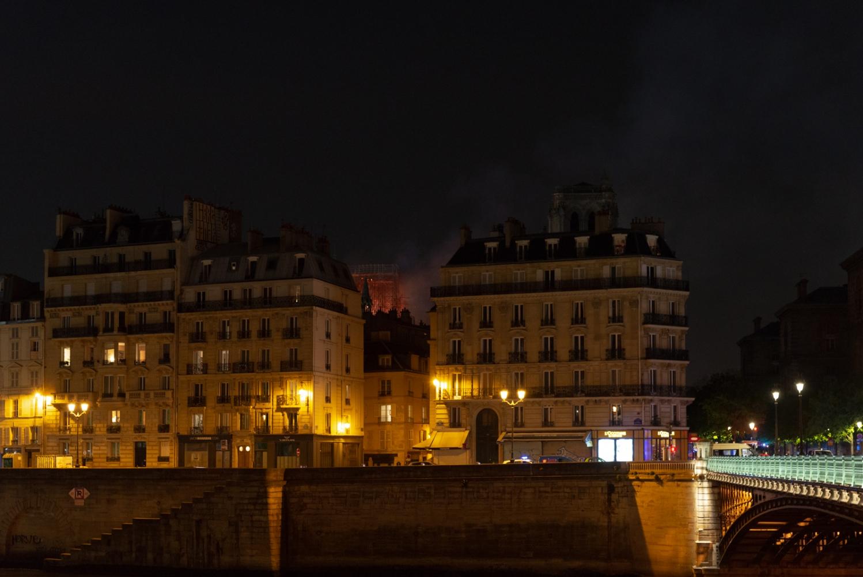 Incendie de Notre Dame de Paris - Avril 2019