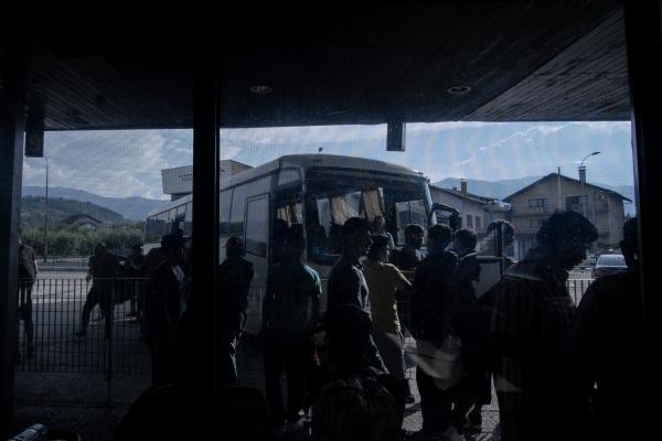 Balkan Road - Migrant crisis BOSNIA