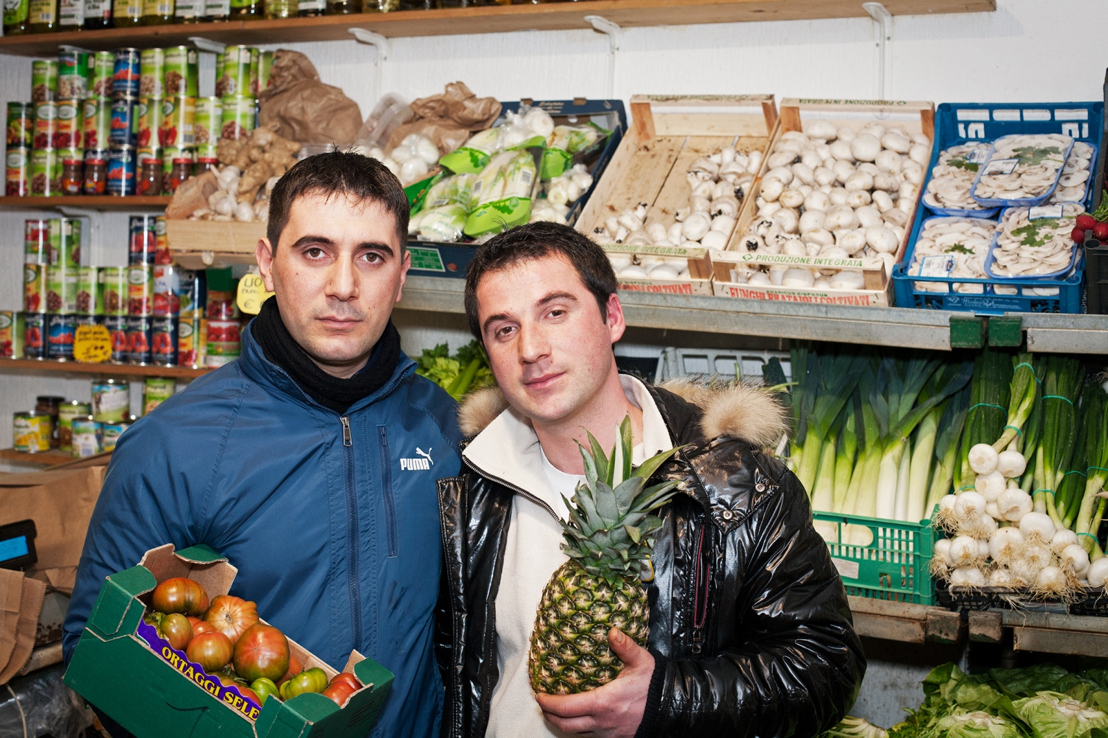Andre' e Talat FRUIT STORE OWNERS