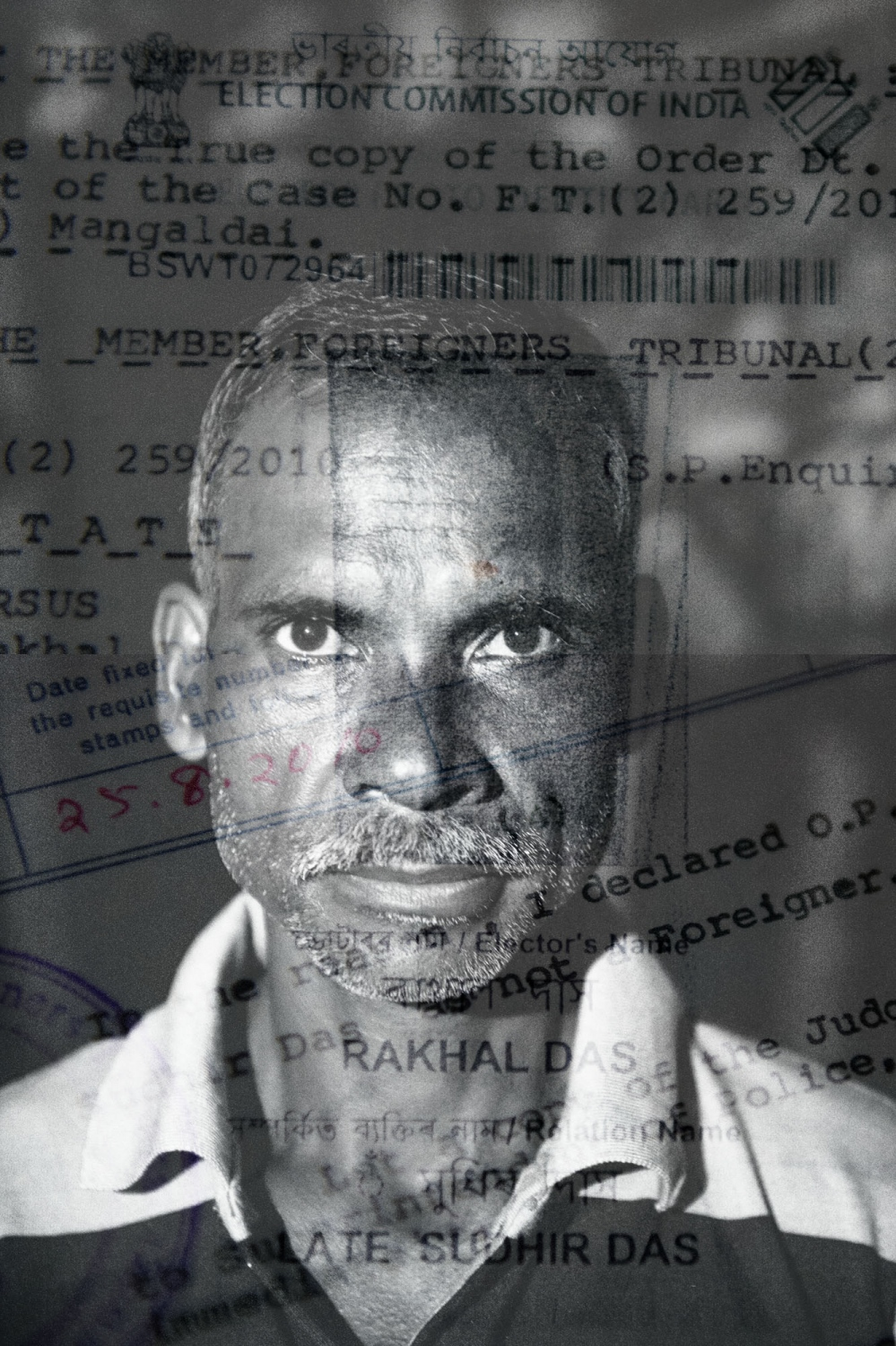 "Rakhal Das, was labeled as a d-voter. He fought the case and won in the Foreigners Tribunal and was declared to be ""not a foreigner"". And yet, in 2018, his name was excluded in the NRC final draft list. His two sons are also not in the NRC because of their relation to a d-voter."