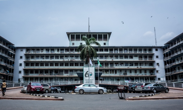 The University College Hospital, (UCH) Ibadan is one of the federal teaching hospitals in Nigeria. It was established by an August 1952 and it is attached to the University of Ibadan. It was a coordinating center for the WOMAN Trial in Nigeria which took place in over 50 hospitals in the country.