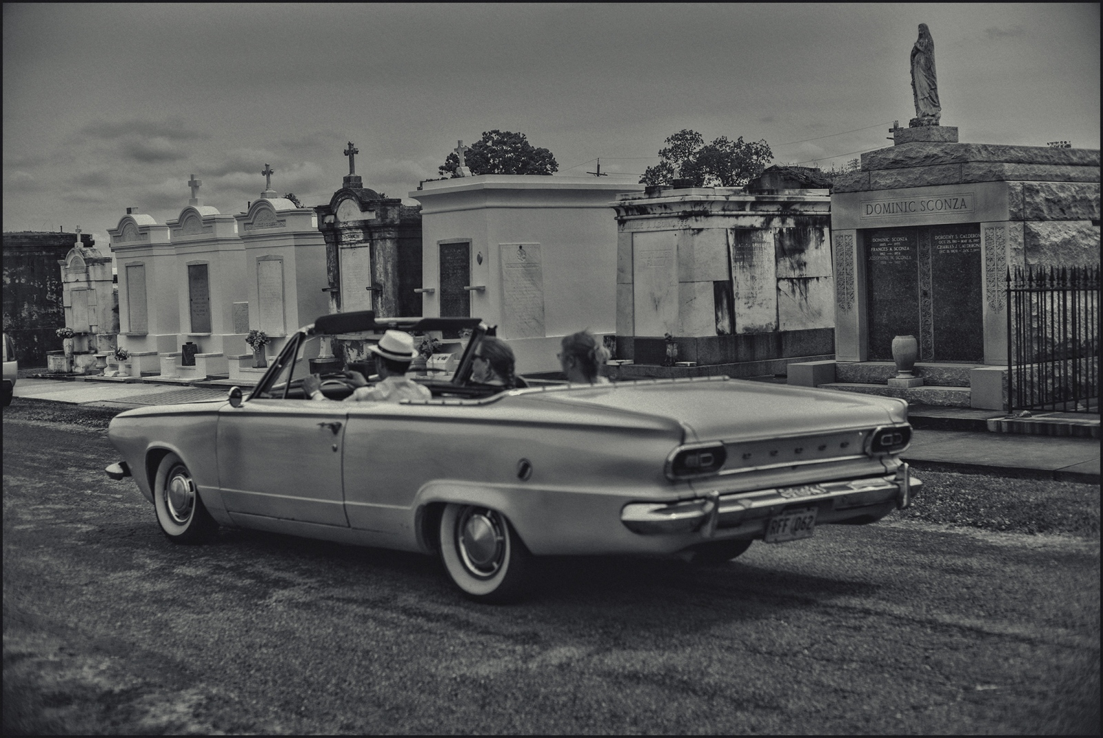 """Hipsters cruising"" St. Louis #1 Cemetery, New Orleans, LA. 2019."