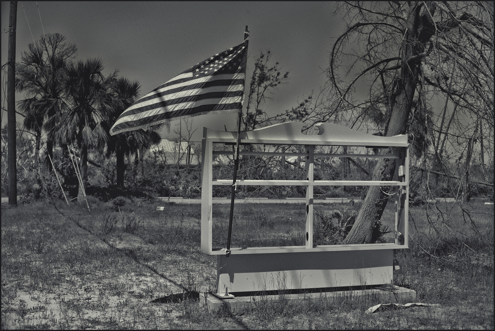 Mexico Beach, Florida. Post hurricane Michael. 2019.