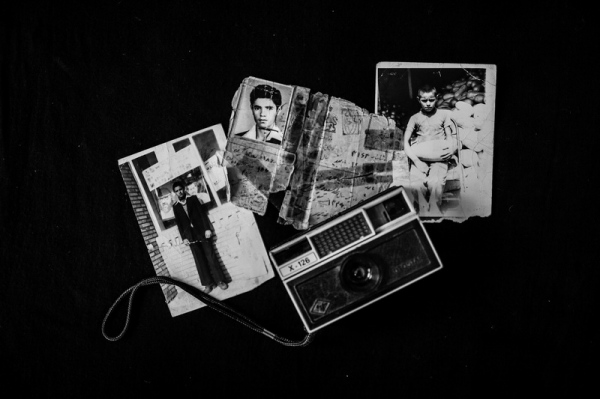 "Mothers' photos of sons they lost during the war. The bodies of thousands of soldiers who fought in the Iran-Iraq War have not been found. These mementoes help bring solace to the mothers who do not want their sons to be forgotten.  photo from "" mothers of patience "" project"