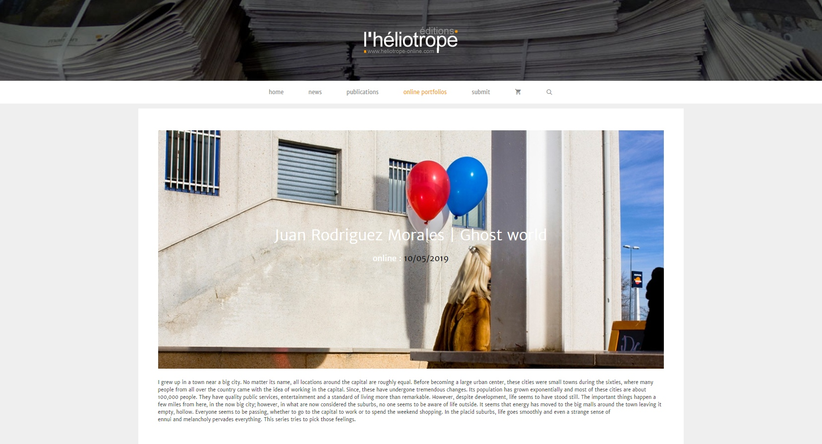 Art and Documentary Photography - Loading heliotrope.jpg