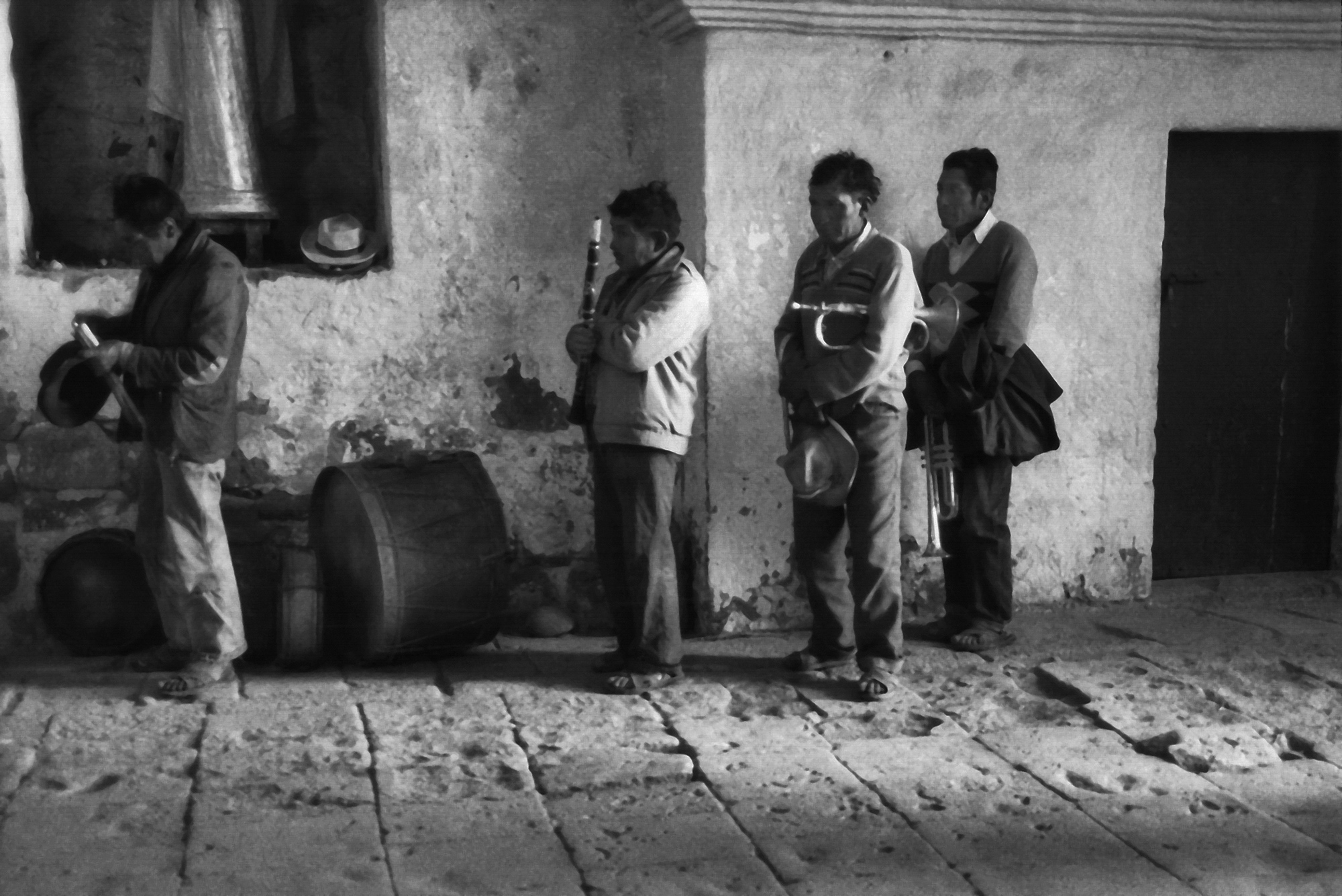 Musicians at Mass, Colca Valley