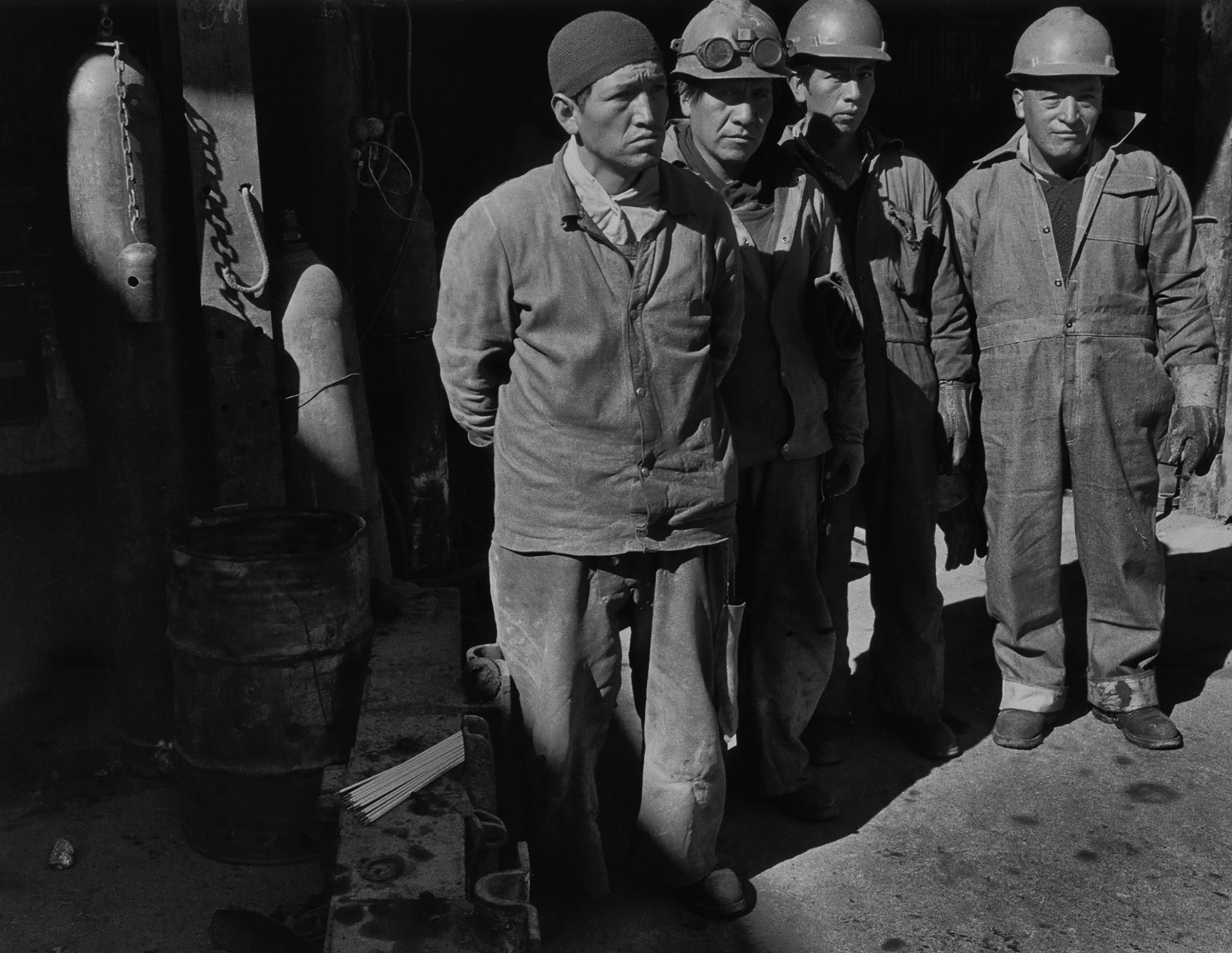 Miners in Morococha