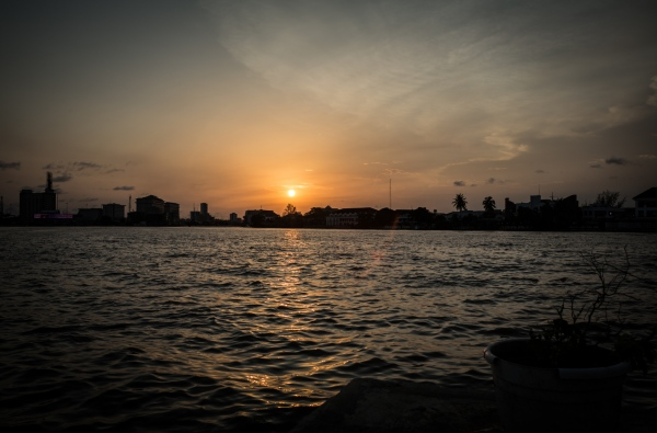 Sunset, Lagos, 2018