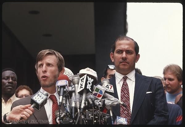 Attorneys, Michael Lewis - Antron McCray Peter Rivera - Raymond Santana Jr.