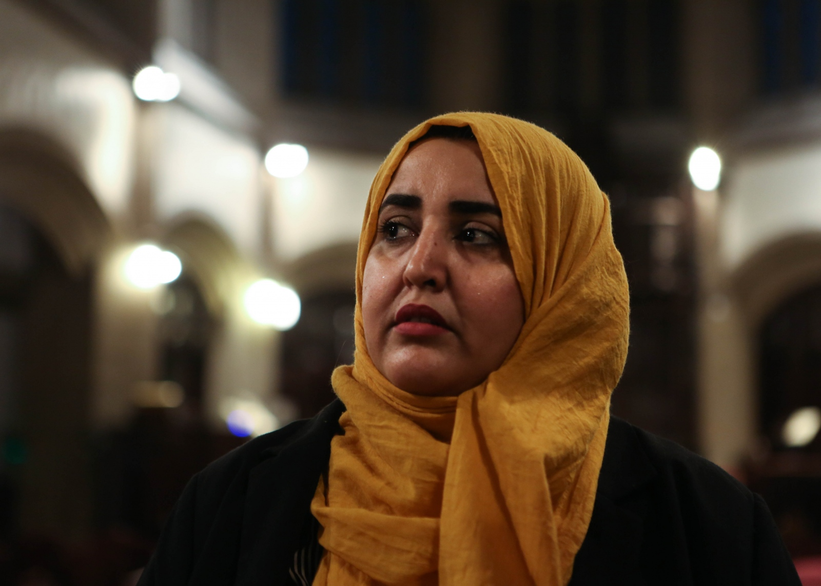 "Somia Elrowmeim migrated from Sana'a, Yemen, 12 years ago after she graduated from Sanaa University with a degree in physics and mathematics. She is a co-founder of Arab Women's Voice, a political consulting firm that hopes to bridge communication between government officials and the Arab and Muslim community of NYC.  Shot for "" Yemeni-American Women Start Political Consulting Firm in New York.""  Gabriella N. Báez/NYT Institute"