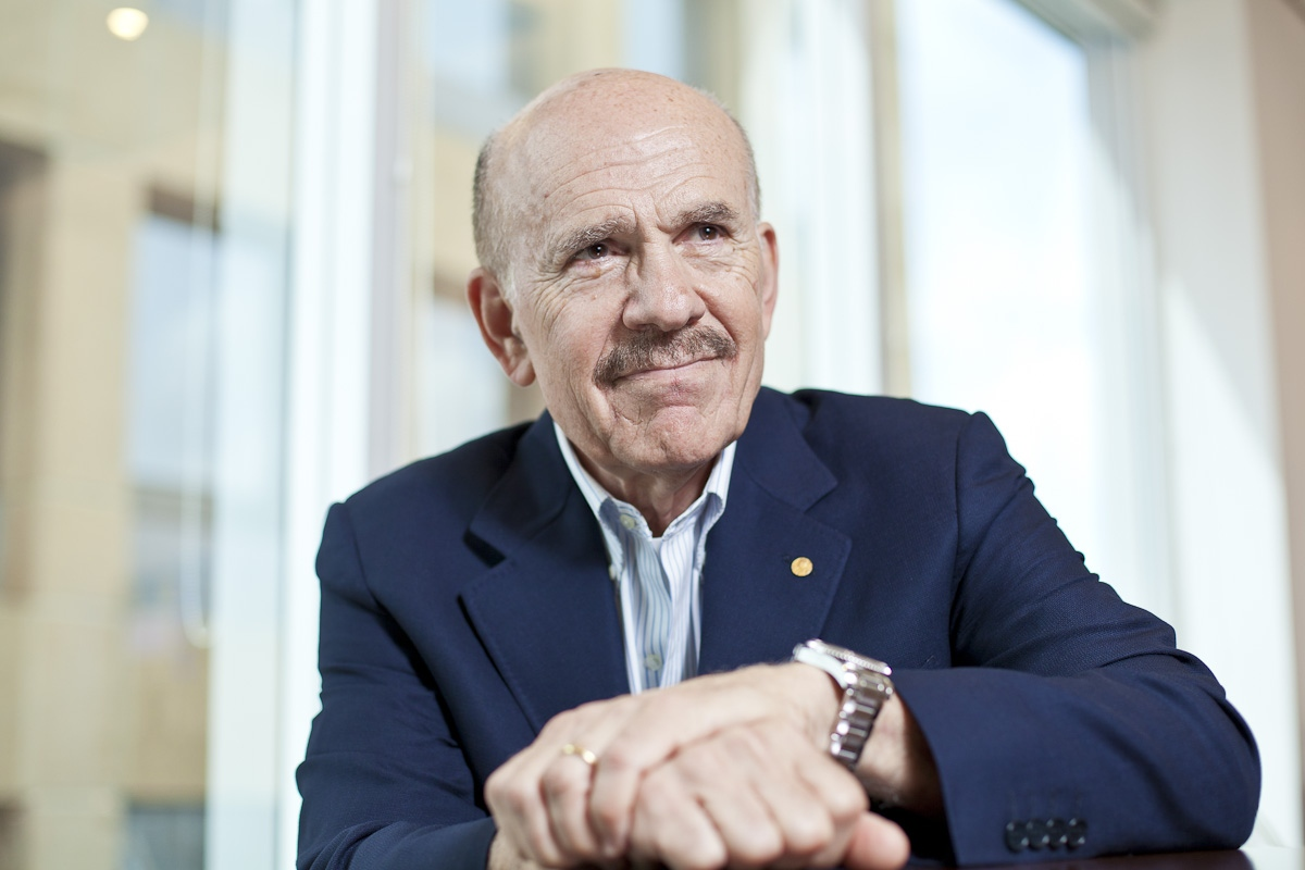 Louis Ignarro, premio Nobel de Medicina para Folha de São Paulo / Louis Ignarro, medicine nobel prize for Folha de Sao Paulo