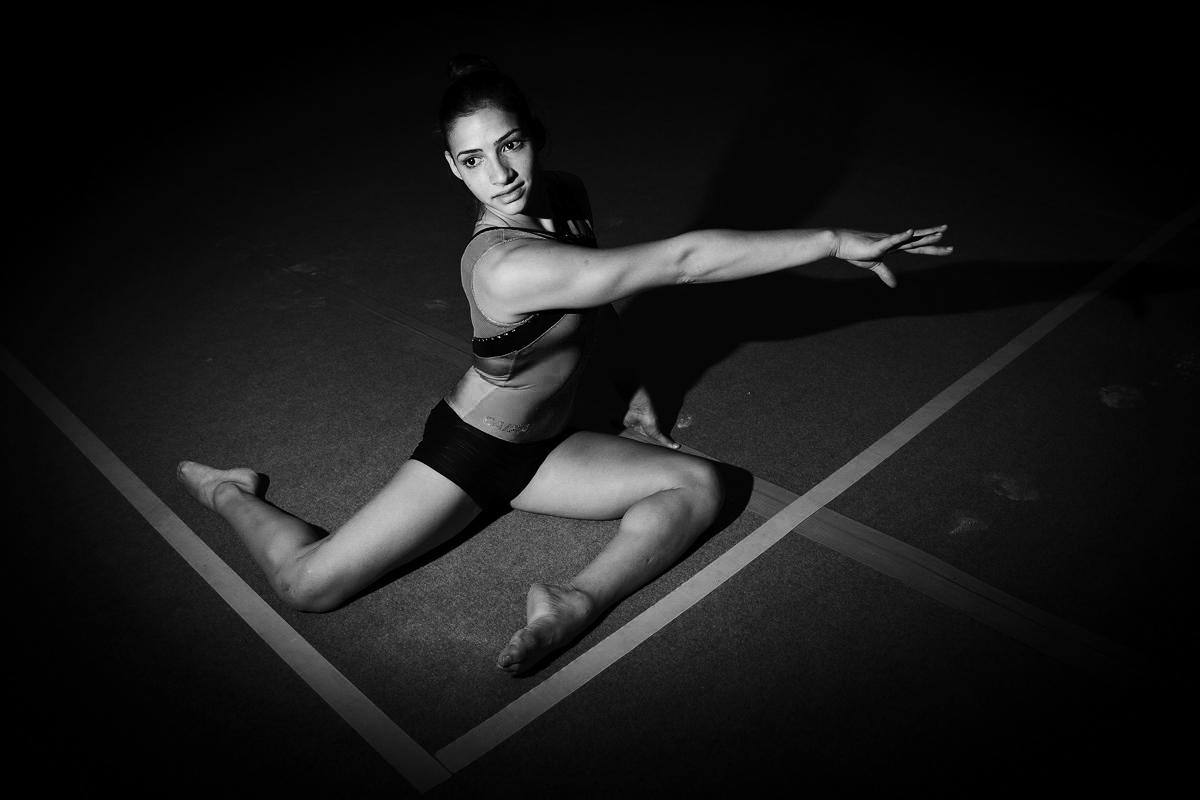 Lais Souza, ginasta para Folha de São Paulo / Lais Souza, gymnast for Folha de Sao Paulo