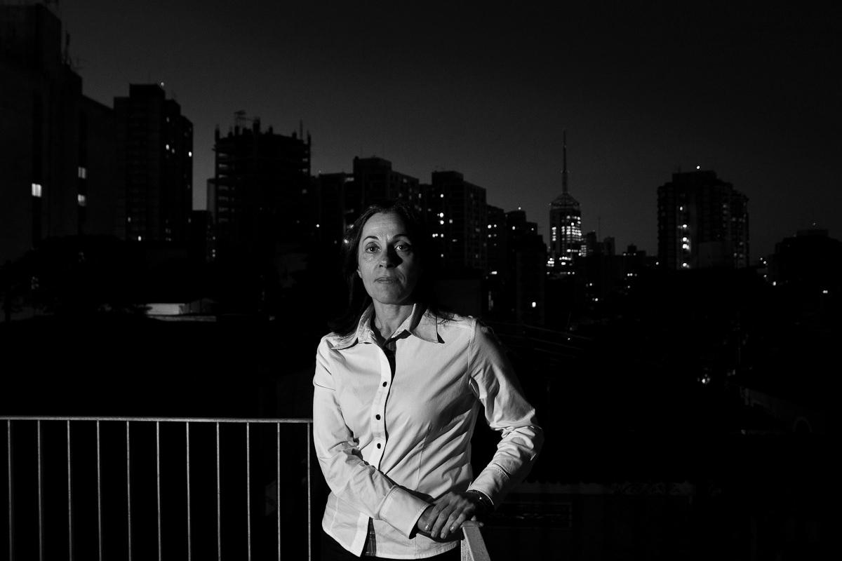 Nádia Campeão para Folha de São Paulo / Nadia Campeao, politician for Folha de Sao Paulo