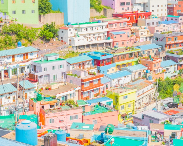 The Color Of Busan, South Korea - Photography project by Minjin Kang