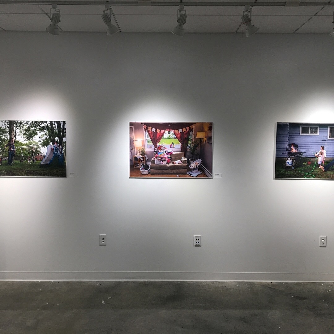 Installation view in the Snyder Gallery at Marlboro College