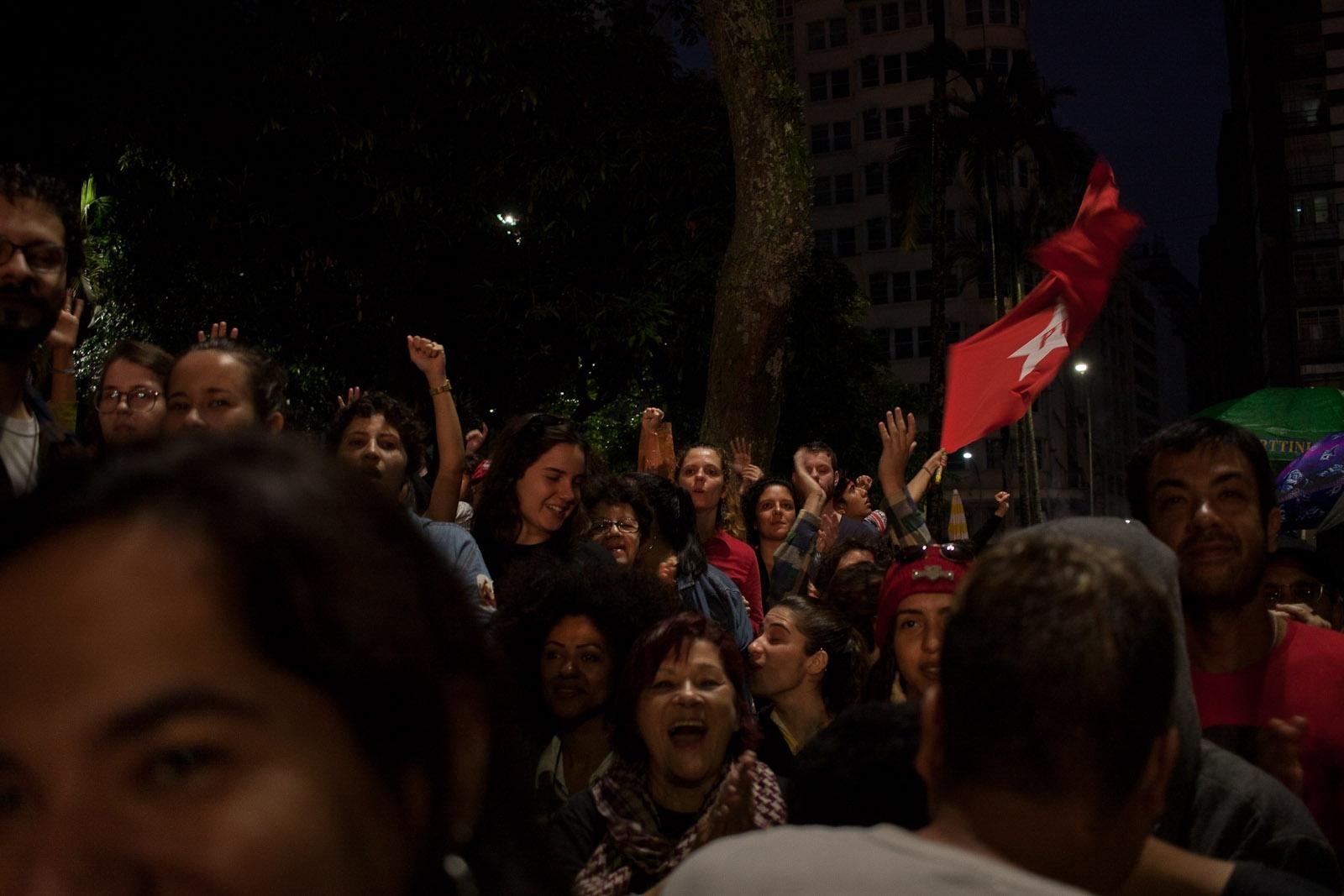 Manifestantes pedem Lula Livre / Protesters claim Free Lula