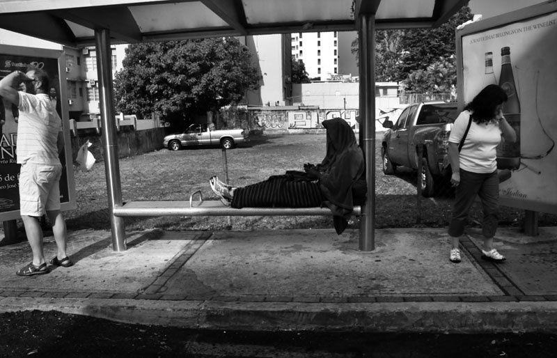 Art and Documentary Photography - Loading 20busstopcondado.jpg