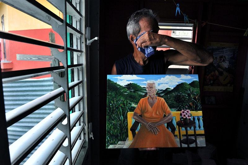 Art and Documentary Photography - Loading 78thepainterandhismothersportrait.jpg