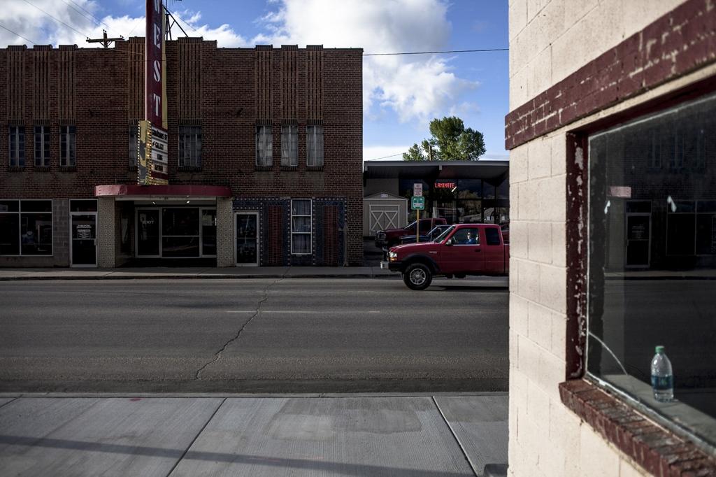 Street scene in Northwest Colorado. Craig, Colorado.