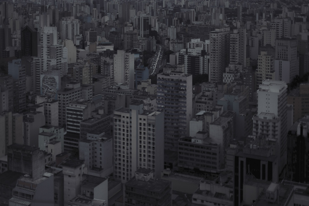 Brazil's most populated city, Sao Paulo, holds hundreds of uninhabited properties and millions of displaced people living in the streets, where abandoned and active real state blends into the urban landscape.