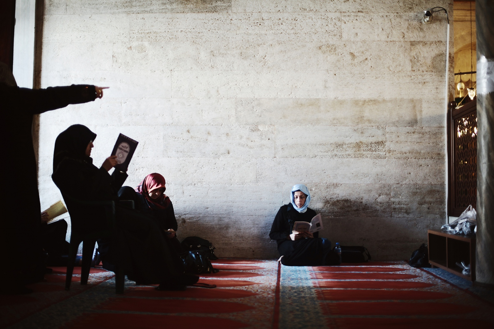 Photography image - Female section of the Suleymaniye Mosque. Istanbul, 2013