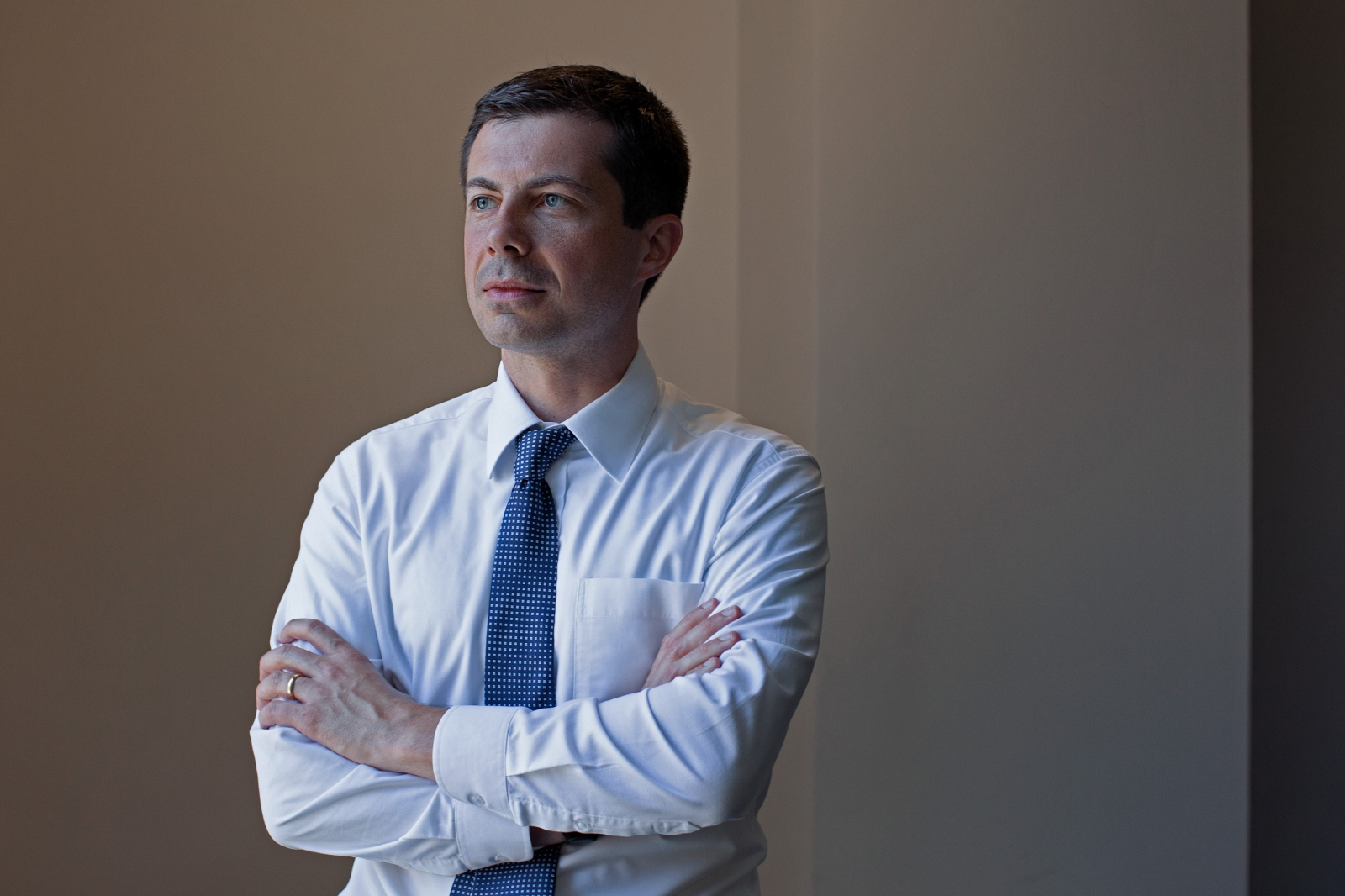 Pete Buttigieg, the Mayor of South Bend, Indiana, and 2020 presidential election candidate.