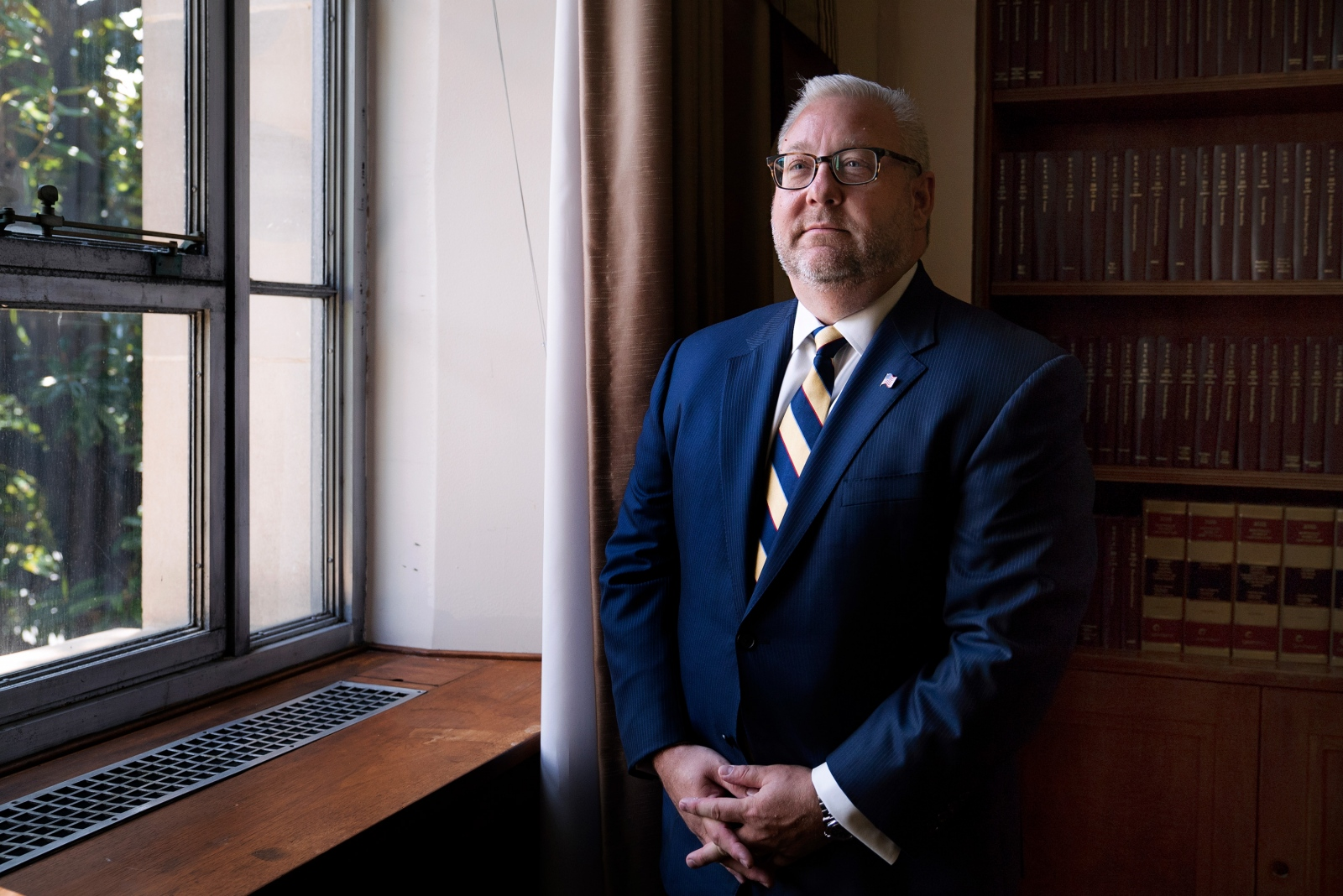 Assistant Attorney General Brian Benczkowski at Justice Department headquarters. He oversees more than 600 prosecutors and the others who work in the criminal division.