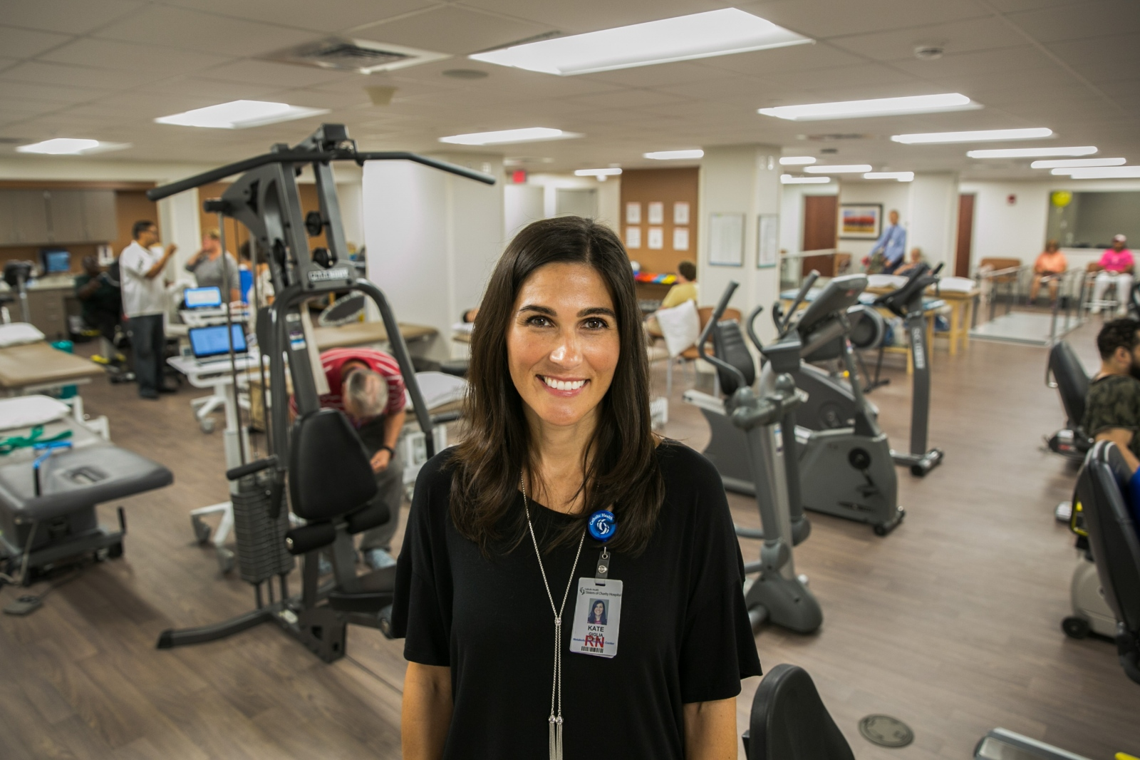 Kate Giglia, the Director of the new Sisters Metabolic Center for Wellness on the St. Joseph Campus in Cheektowaga, N.Y.