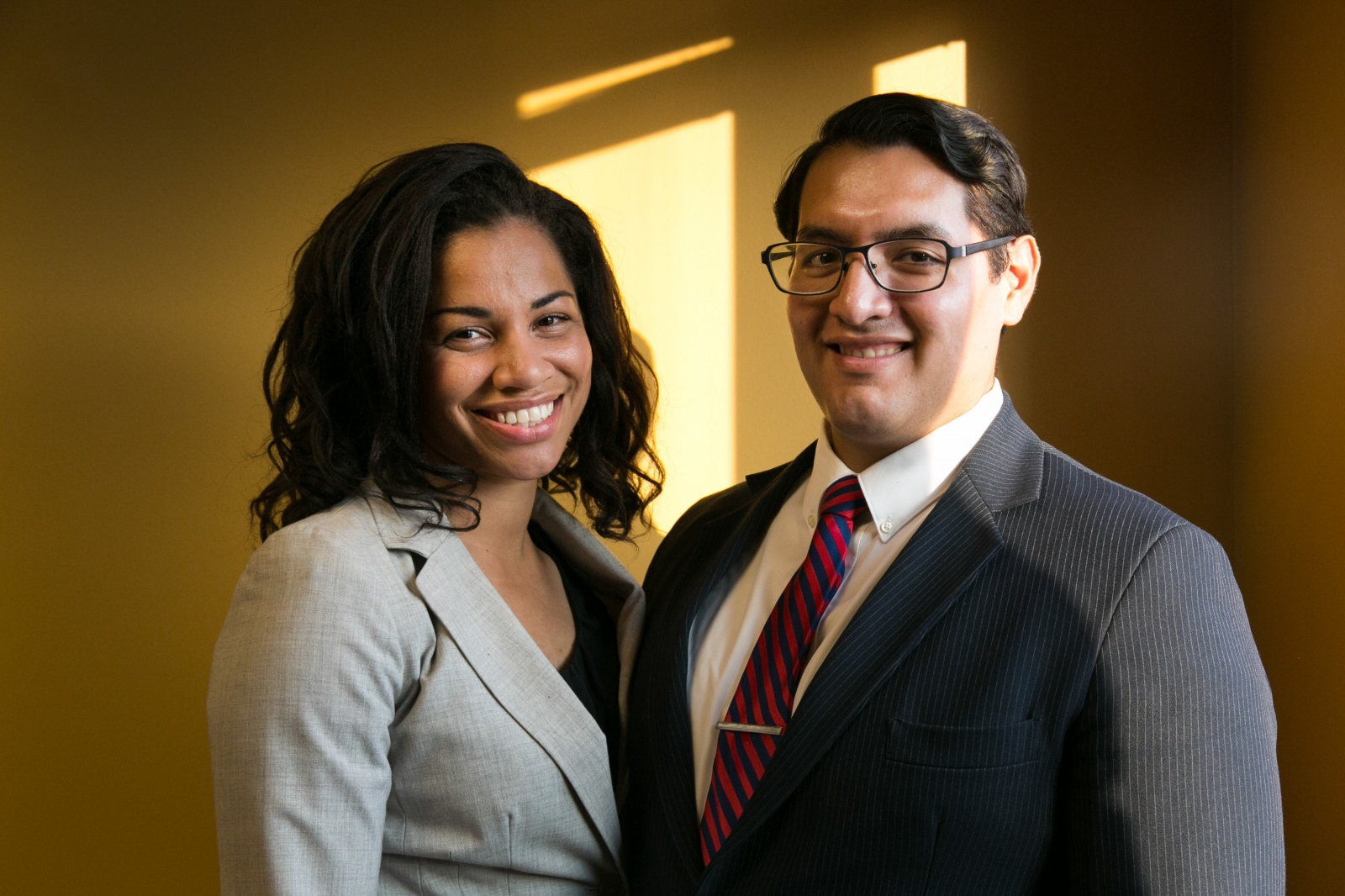 Brittany Boyd and her husband, Esteban Alvarez, have been a World Mission Society Church of God member for nine years.