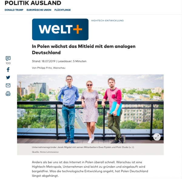 Assignment for WELT AM SONNTAG