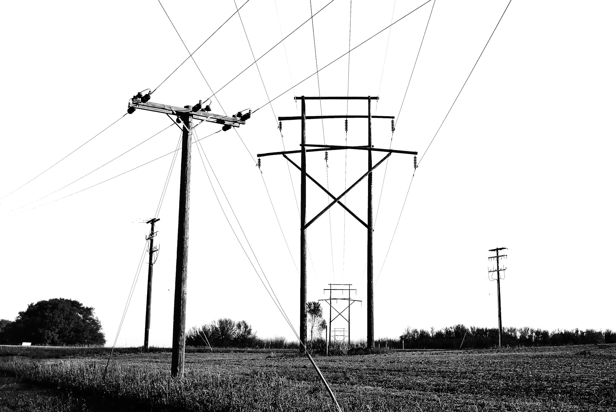 Art and Documentary Photography - Loading Powerlines__just_outside_of_Saskatoon.jpg