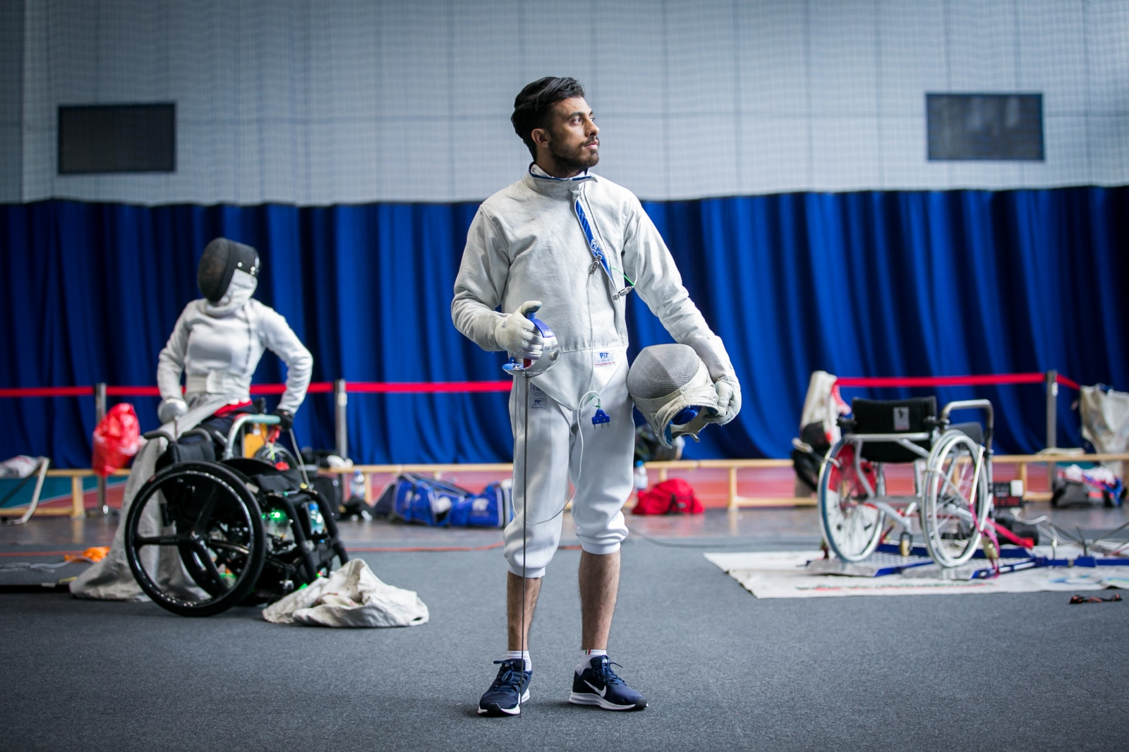 Photography image - Loading 8.6.2019__Wissam_Sami-IWAS_Wheelchair_Fencing_World_Cup_in_Poland_fot._Anna_Liminowicz-4356.jpg