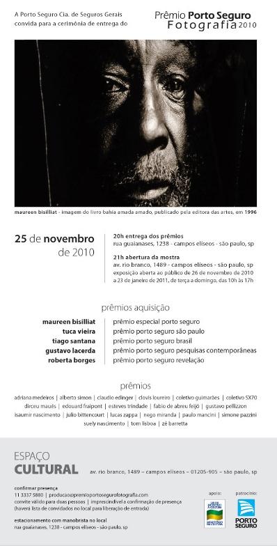 Exposição coletiva Prêmio Porto Seguro de Fotografia, do ensaio 'Paisagens Passageiras' (2010) / Collective exhibition Porto Seguro Photography Prize of the essay 'Passing Landscapes' (2010)