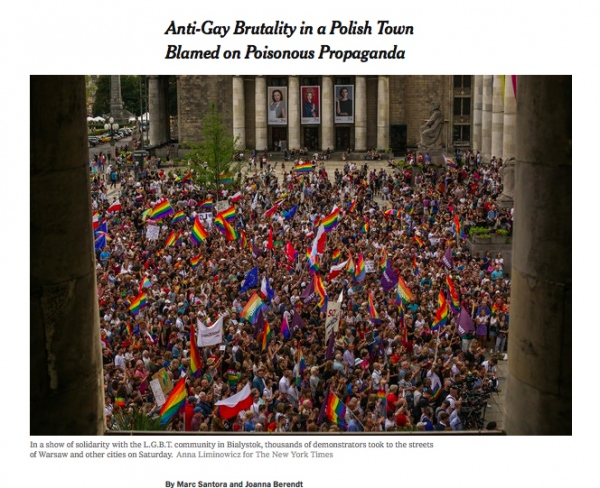 The New York Times International, Sunday , July 28, 2019