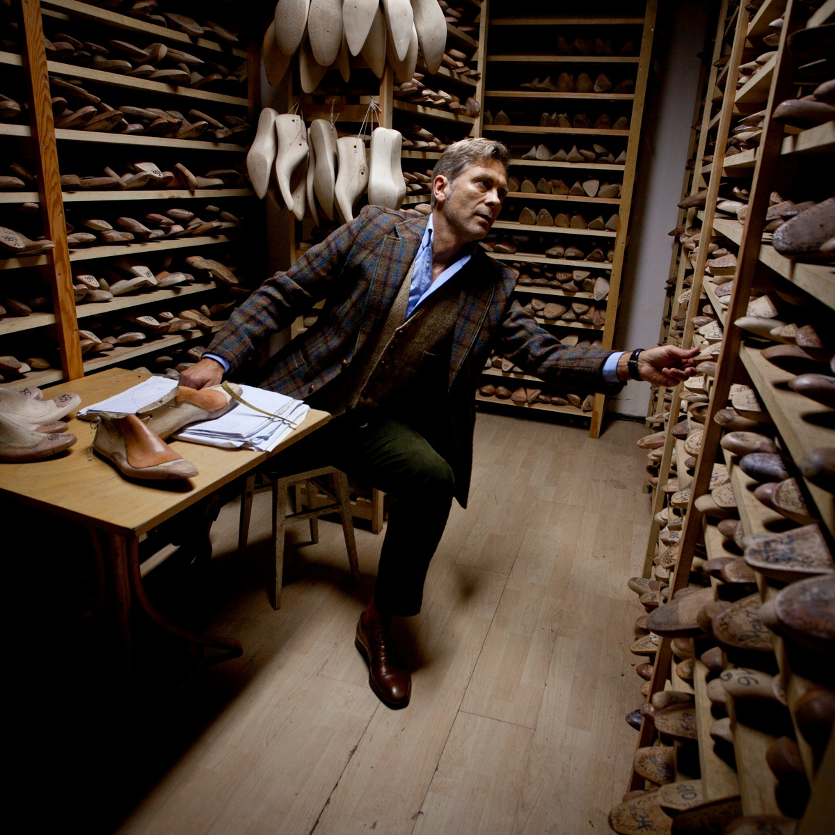 Shoemaker Jan Kielman. Warsaw