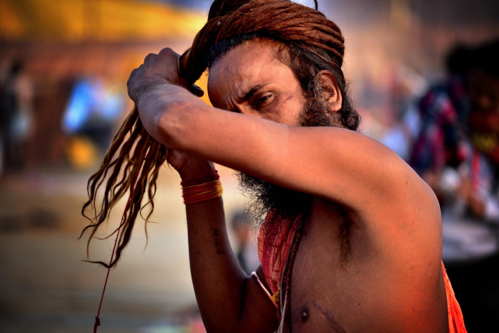Photography image - Sadhu (Indian Monk)