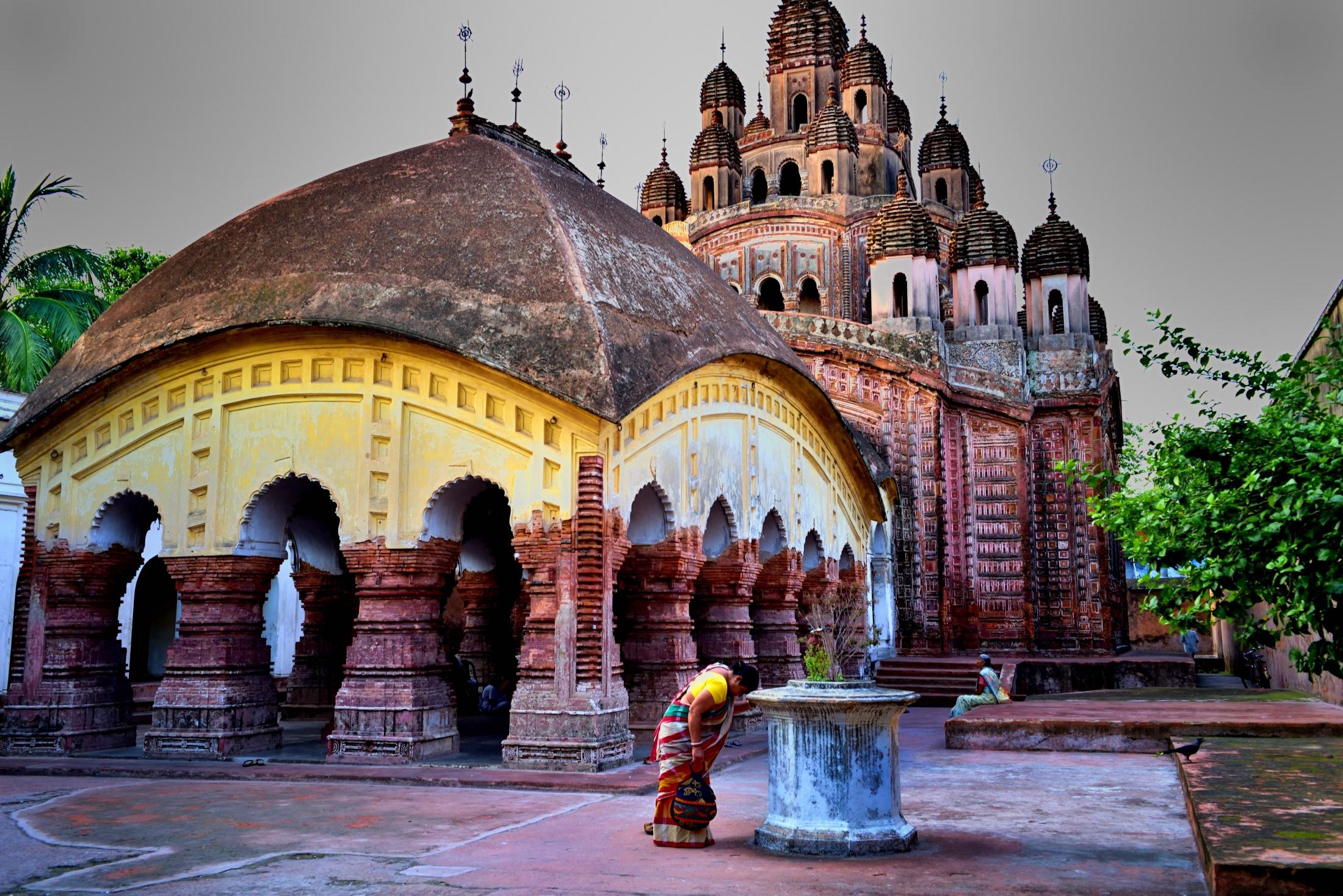 Photography image - Devotee has no religion..