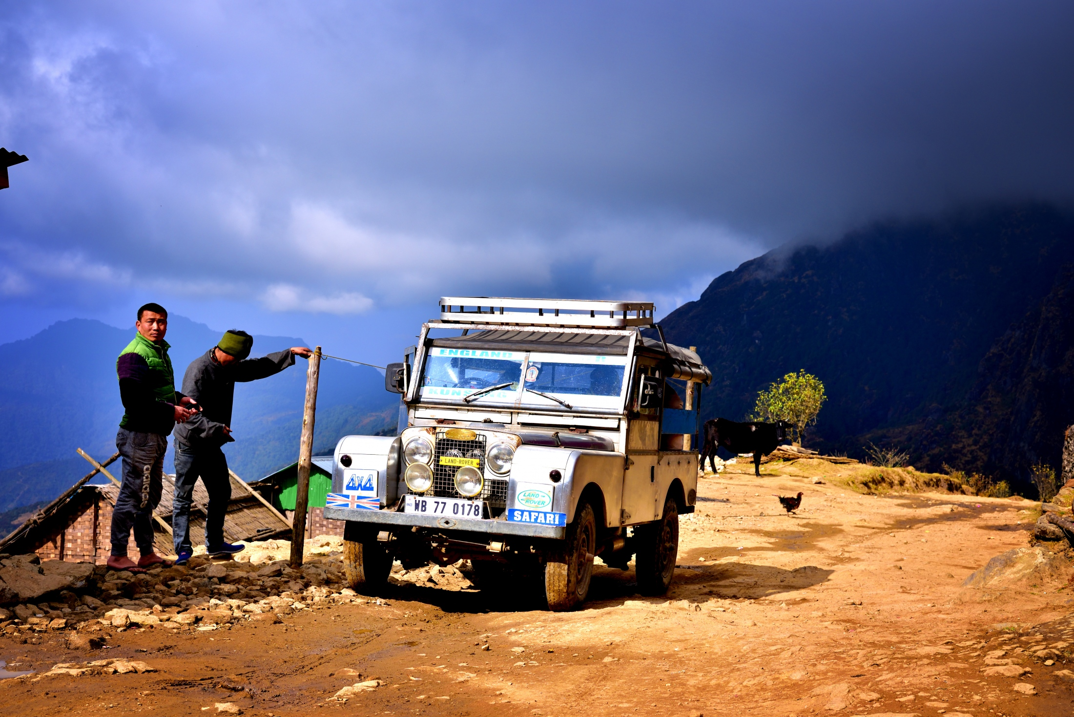 Photography image - Himalayan journey with Land Rover