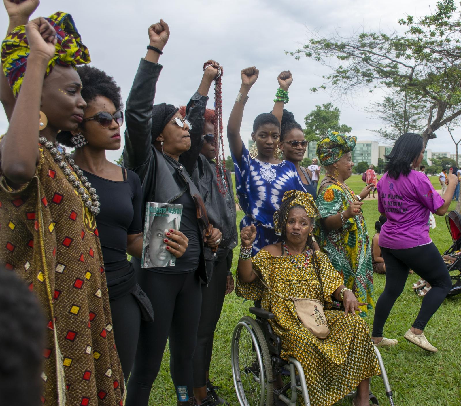 Photography image - Protest: Brazil, 2016 - Black Liberation