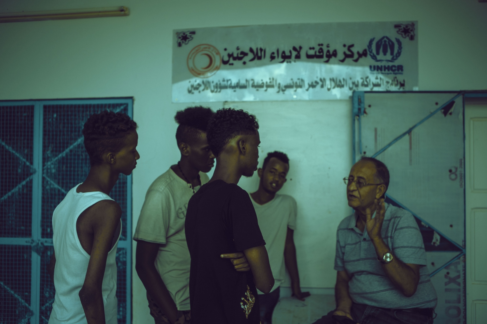 Mongi Slim, President of the Red Crescent Society of Zarzis,