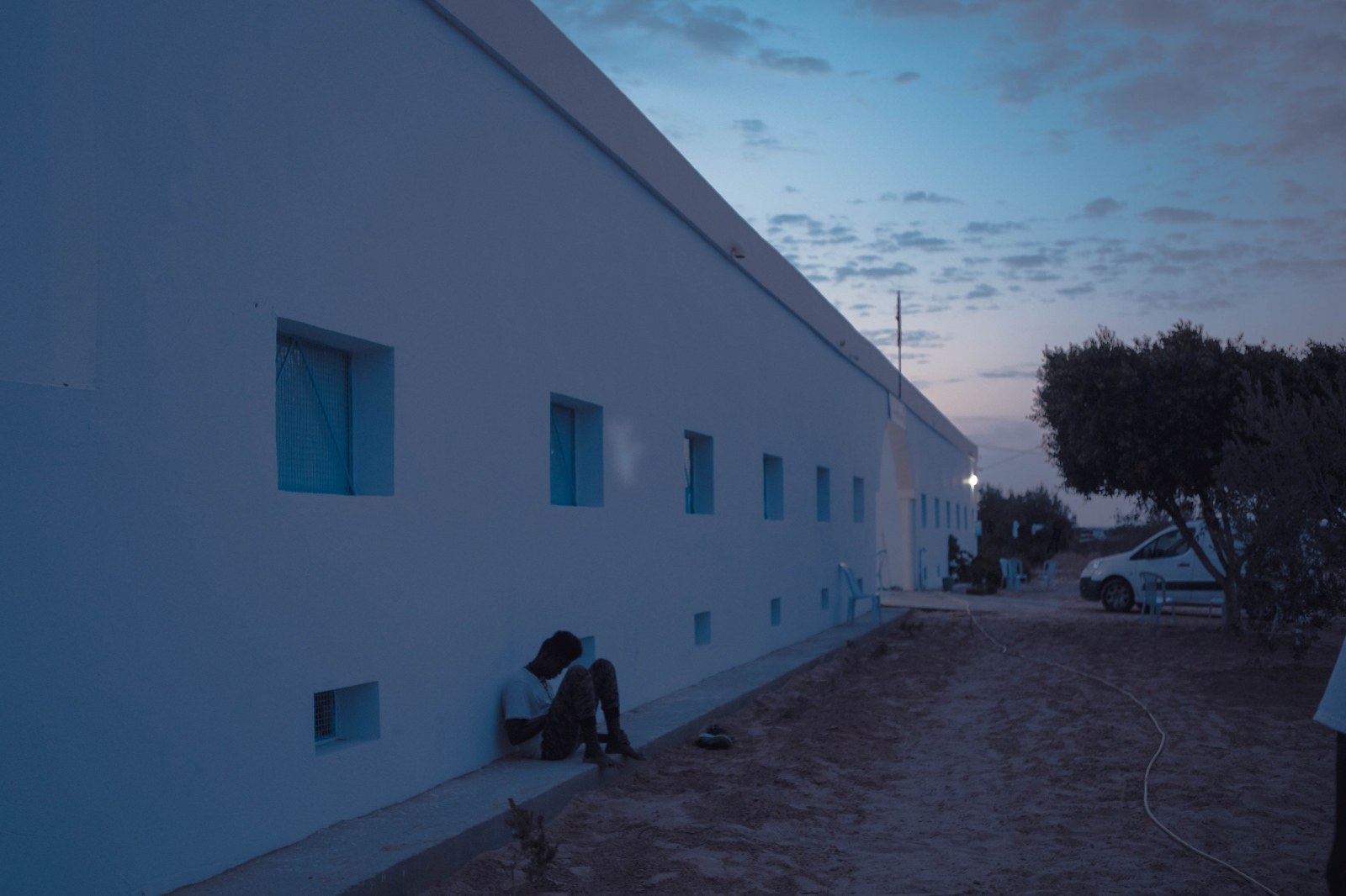 """one of the three survivors of the July 1st tragedy. There is a real lack of resources, generally speaking in Tunisia, to deal with this tragedy. In particular, the country has a very limited number of lifeboats. The situation is only getting worse, as some European countries, such as Italy, are now refusing NGO humanitarian ships to dock."""""""