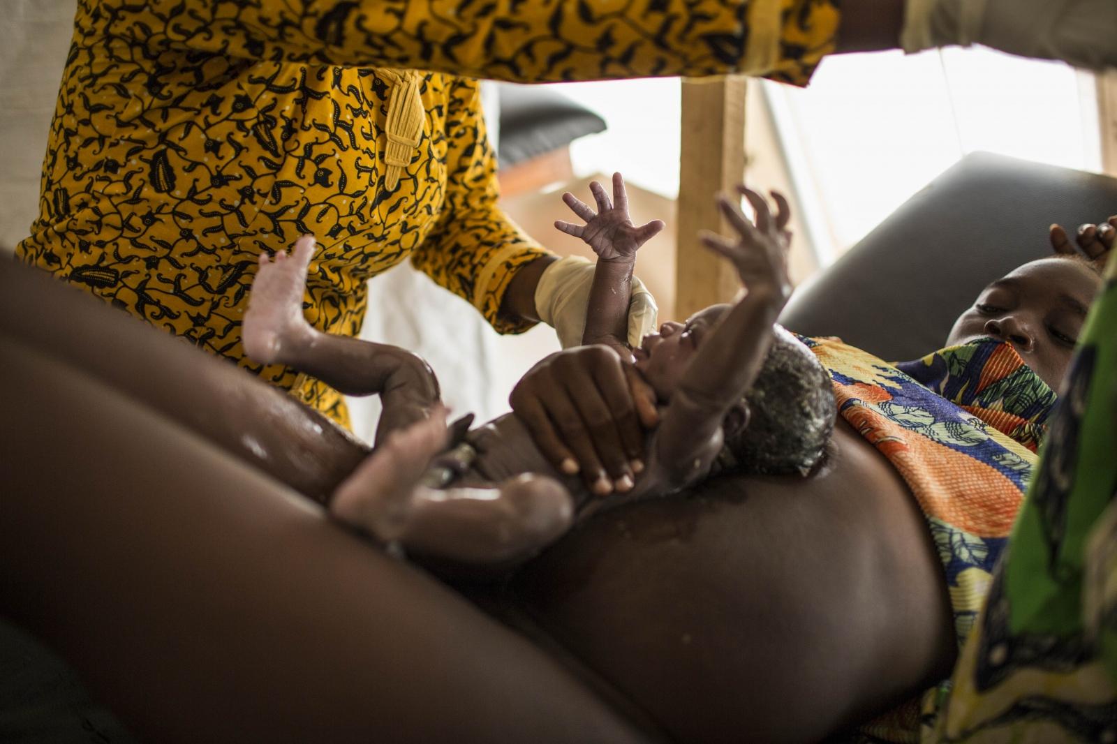 Gambia nude single