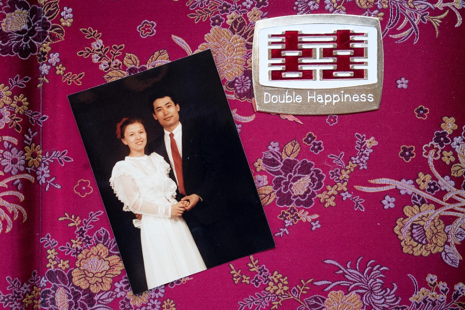 Pei and Zhang met in Beijing, and married in 1984.