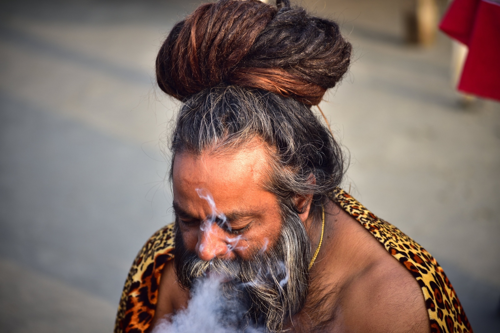 Photography image - Indian Monk