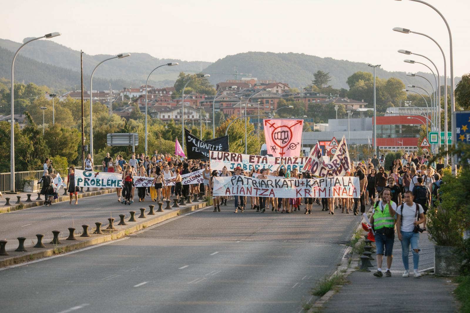 2019-08-23 - Feminist demonstration in Hendaye