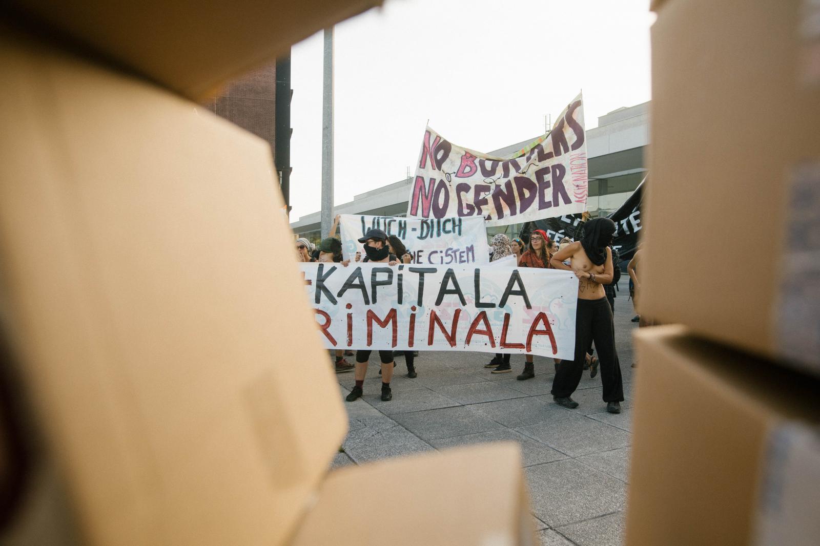 2019-08-23 - Feminist demonstration in Hendaye
