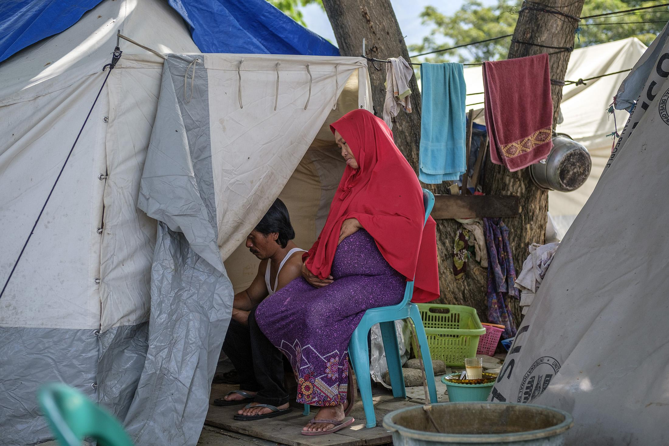 6 months after the magnitude 7.5 earthquake triggered a tsunami, landslides and land liquefaction in Indonesia's Central Sulawesi province on September 28, 2018, many are still living in Internally Displaced Persons (IDP) camps throughout the province. According to the Indonesia disaster management agency, over 4,000 people died, more than 10,000 seriously injured and in excess of 200,000 people displaced.