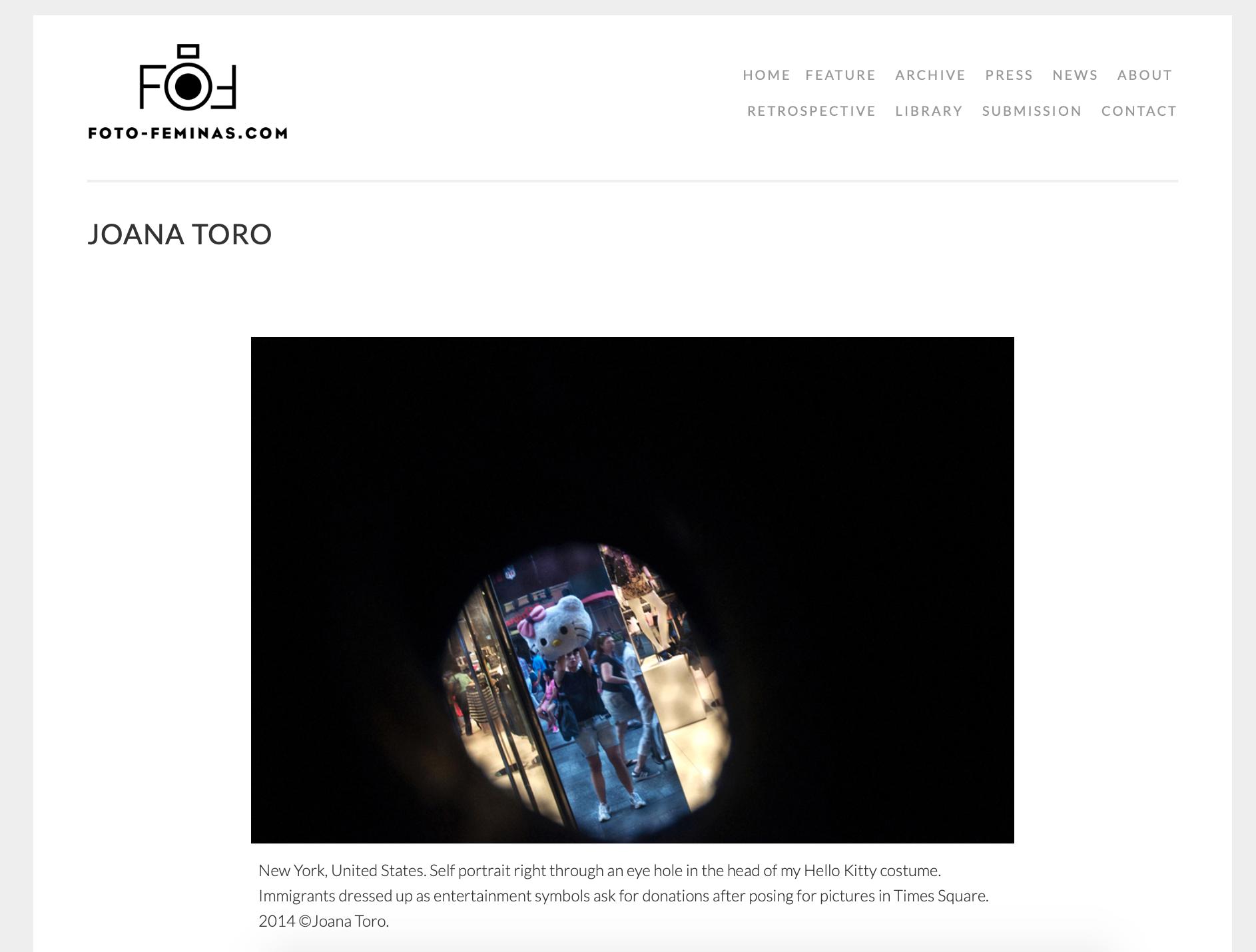 Fotofeminas Latina Photographers Platform Fotofeminas Interview