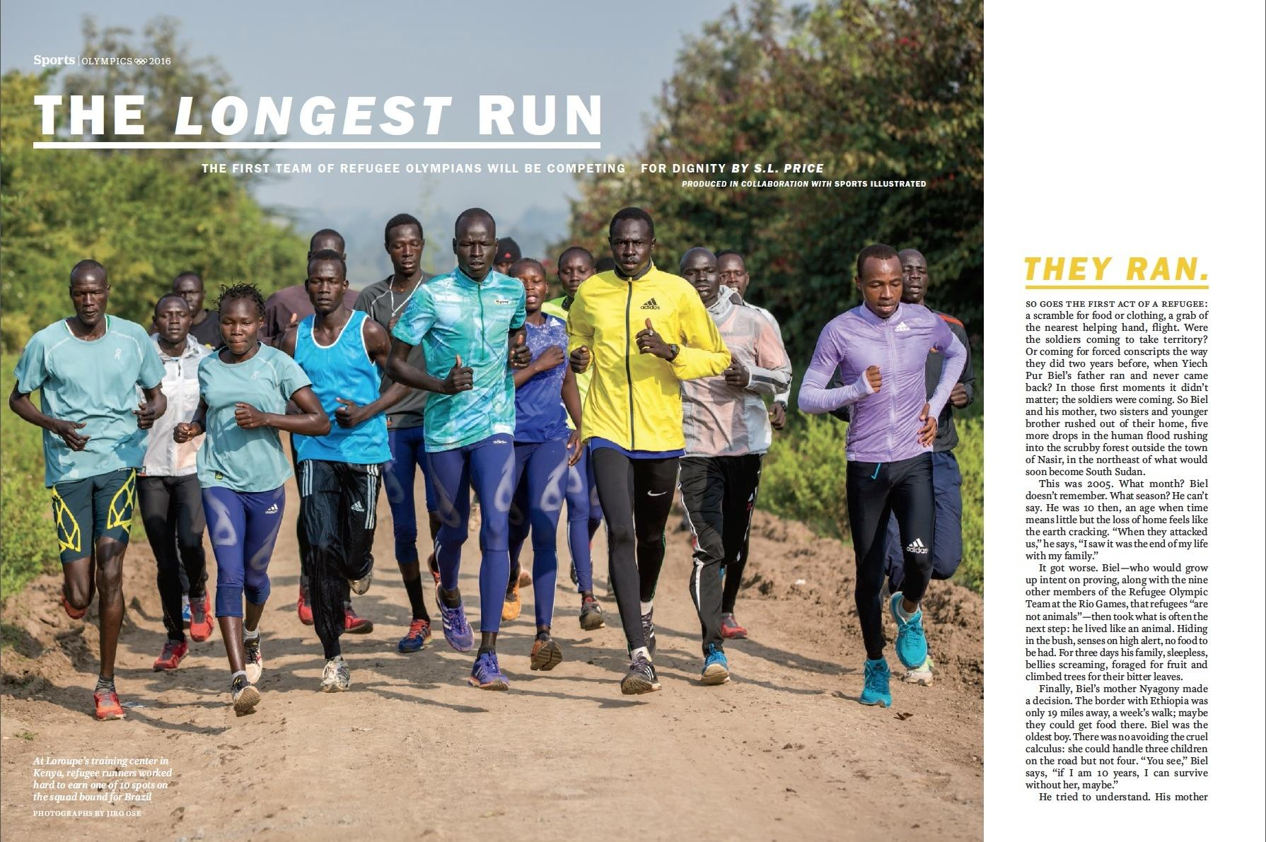 Time Magazine, Refugee Olympians